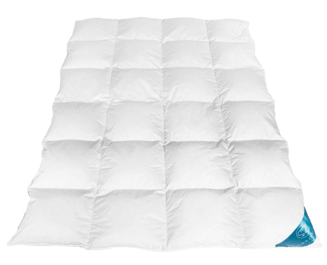 Warme Premium Daunendecke Daunen Federn Decke Steppdecke Gänsedaunen Natur