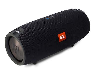 JBL Xtreme Bluetooth Lautsprecher Tragbar Wasserfest Schwarz