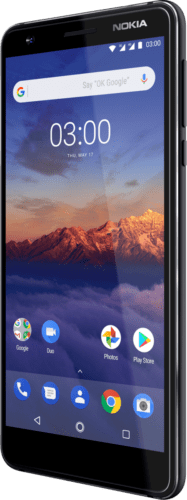 NOKIA 3.1 DualSim schwarz 16GB LTE Android Smartphone ohne Simlock 5,2