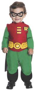 Rubies Teen Titans Go! Robin DC Comics Infant Toddler Halloween Costume 885209