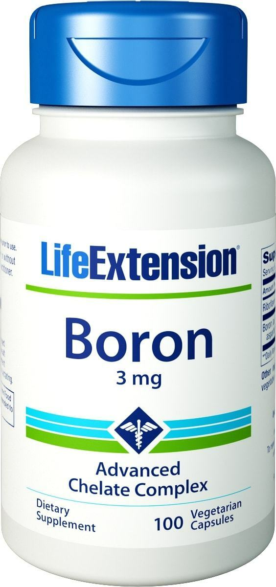Life Extension, Boron, 3mg, 100 Veg. Kapseln - Blitzversand