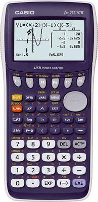 Casio FX-9750 G II Grafikrechner - Taschenrechner mit grafischer Anzeige