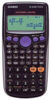 Casio FX-82 DE Plus Schulrechner - Taschenrechner mit natürlicher Darstellung