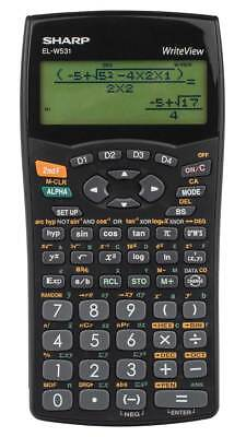 Sharp EL-W531B Schulrechner WriteView-Display Batterie - Taschenrechner