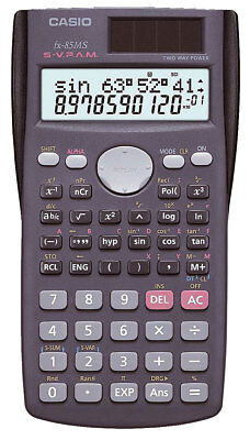 Casio FX-85 MS Schulrechner - Taschenrechner - deutsche Anleitung