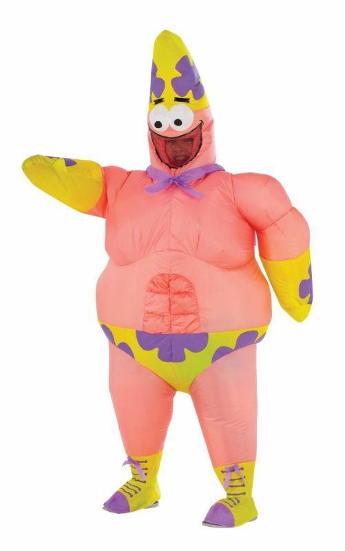 Rubies Inflatable Spongebob Patrick Mr Superawesomeness Halloween Costume 610810