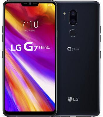LG G7 ThinQ schwarz 64GB LTE Android Smartphone o. Simlock 6,1