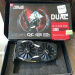 Asus Dual Radeon RX 580 4GB OC Graphics Card