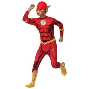 Flash Costume Kids Halloween Fancy Dress