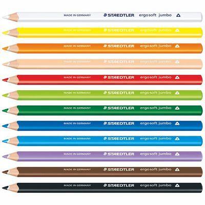 STAEDTLER Farbstift Ergosoft Jumbo 158 [alle Farben wählbar]