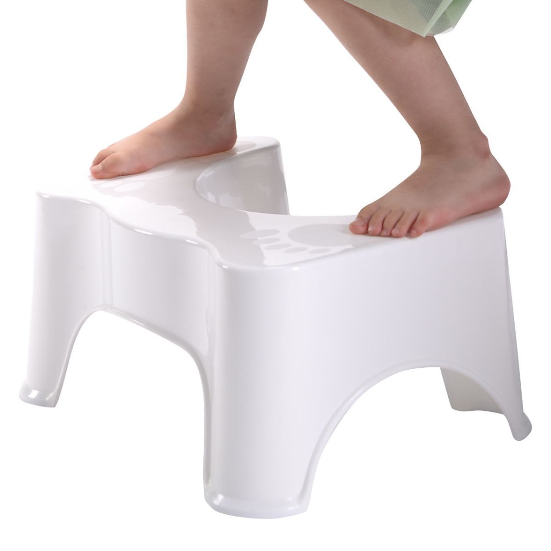 Medizinischer Toilettenhocker Toilettenstuhl Toilettenhilfe Tritthocker