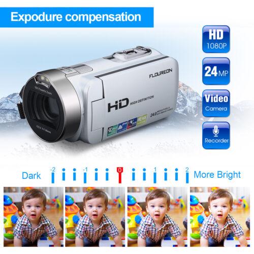 HDdigital Videokamera Camcorder 24MP 16xZoom DV Nachtlicht Das Leben aufzeichnen
