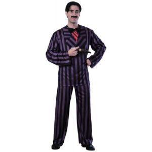 Gomez Costume Adult Addams Family Halloween Fancy Dress