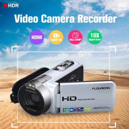 2.7''TFT LCD 1080P FHD Digital Video Kamera 24MP 16xZoom Camcorder DV 2019 hot