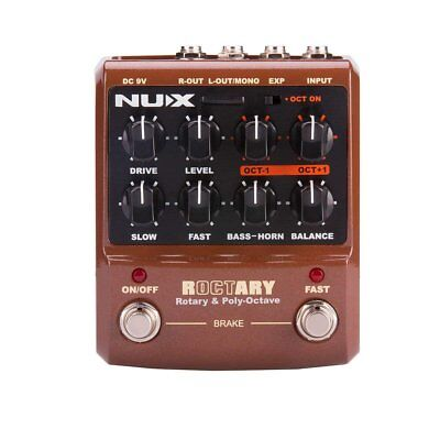 NUX Roctary force guitar effects pedal Rotary Speaker Simulator and cabinet...