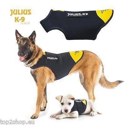 Julius K-9 IDC® Neopren Regen-Mantel für Hunde - hochwertiger Hundemantel - NEU