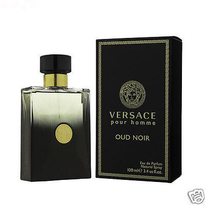 Versace Pour Homme Oud Noir Eau De Parfum EDP 100 ml (man)