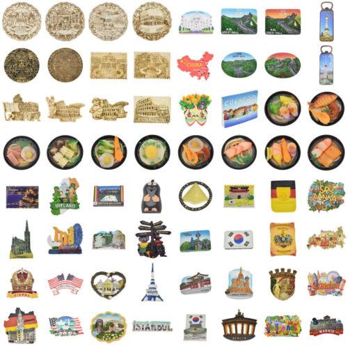 Reise Andenken Kühlschrankmagnet Magnet Sticker UK US DE Kühlschrank Aufkleber