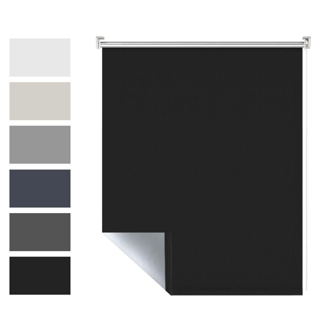 Fensterrollo Klemmfix verdunkelungsrollo ohne Bohren Sonnenschutz Rollos