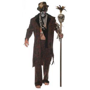 Witch Doctor Costume Adult Voodoo Halloween Fancy Dress