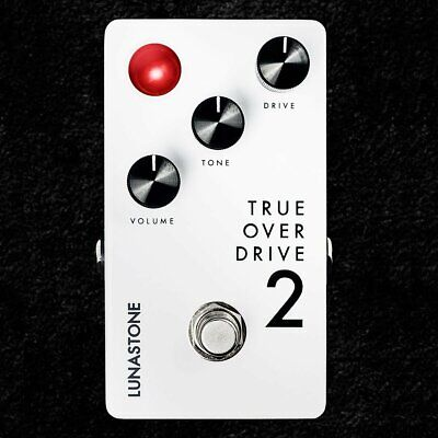 NEW! Lunastone True OverDrive 2 Overdrive Pedal