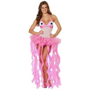 Jellyfish Costume Adult Sexy Halloween Fancy Dress