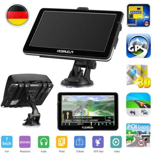 7''LCD Touch Screen GPS Navigationsgerät LKW PKW Auto Navigator 8GB Navi Karten