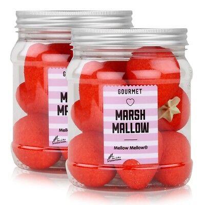 Mellow Marshmallow Riesenerdbeeren in der Retrodose 160g (2er Pack)