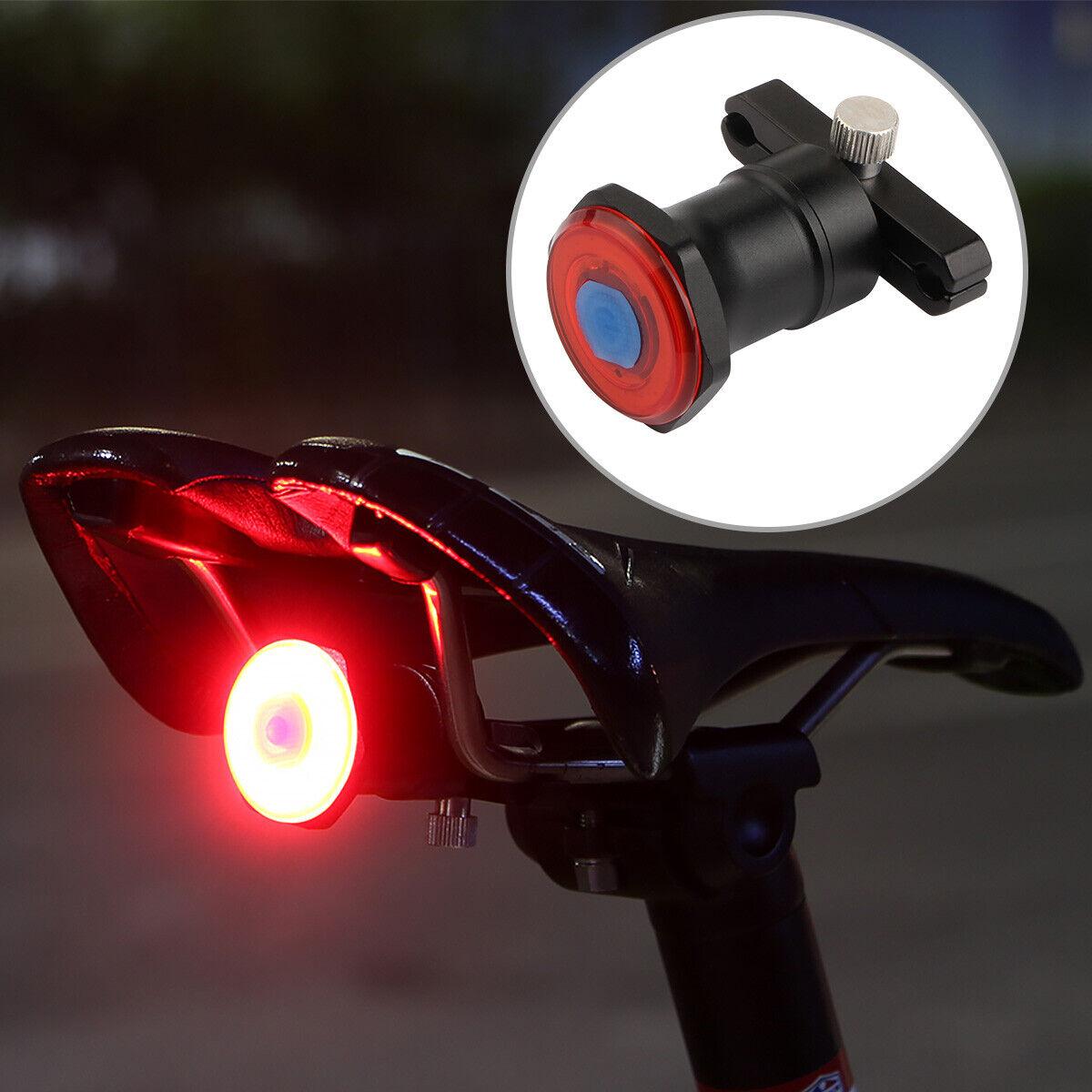 Led Fahrrad Rucklicht Bike Licht Akku Leuchte Sattel 100lm Alu Rennrad Mtb City Ebay