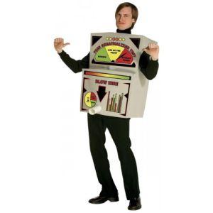 Breathalyzer Costume Adult Funny Halloween Fancy Dress