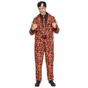 David S Pumpkins Costume Saturday Night Live Halloween Fancy Dress