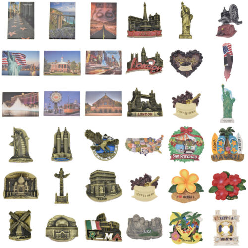 Kühlschrankmagnet US Stadt Reise Landschaft Kühlschrank Aufkleber Magnet Sticker