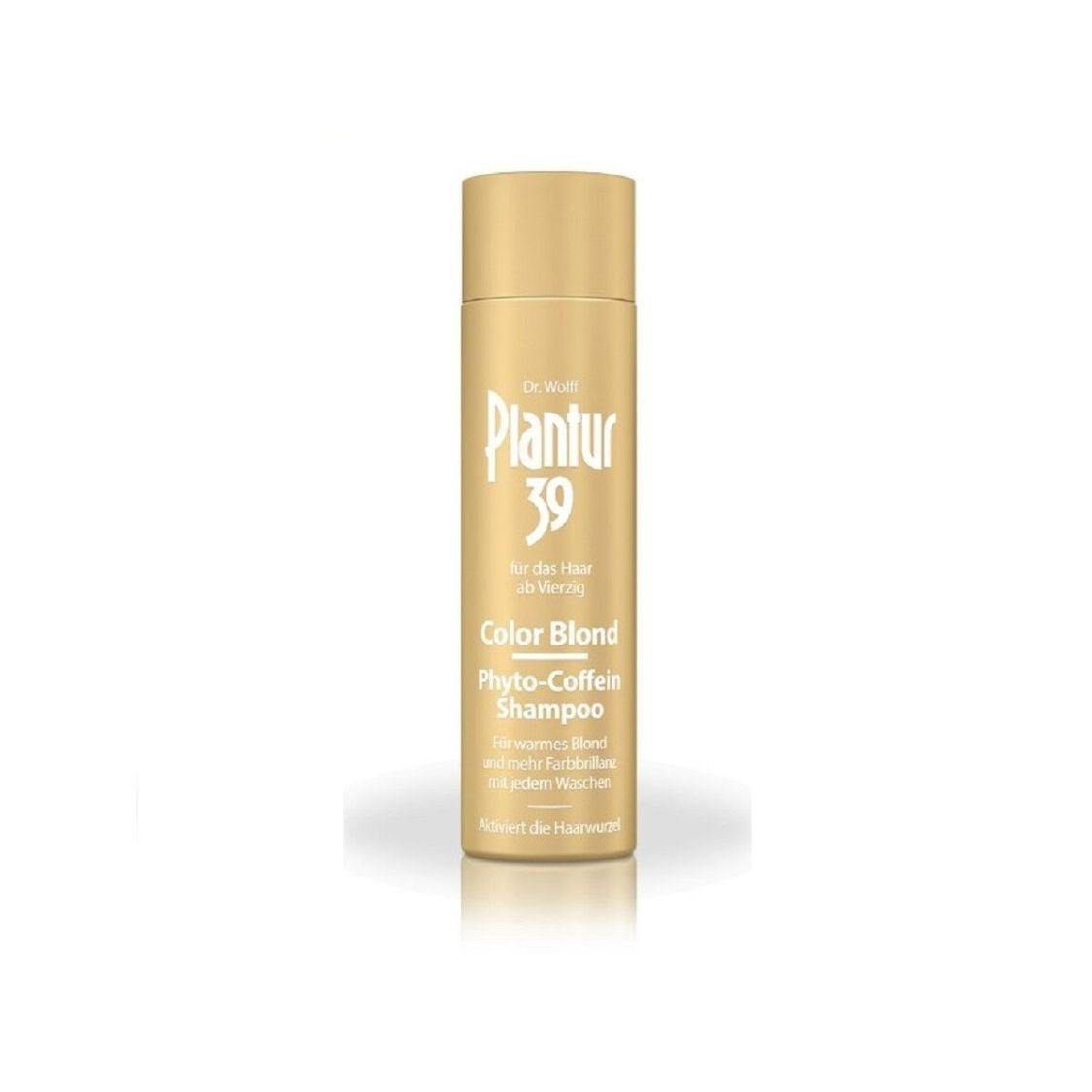 Alcina Plantur 39 Color Blond Phyto-Coffein Shampoo 250 ml