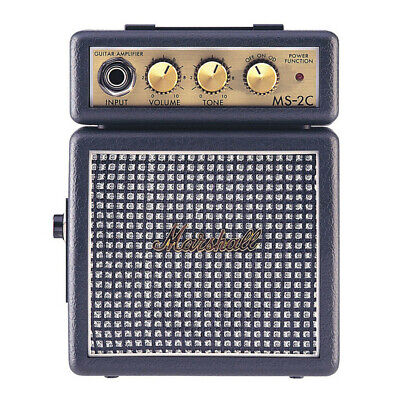 Marshall MS-2 Micro Electric Guitar Amp, Classic (MS2 MS 2c)