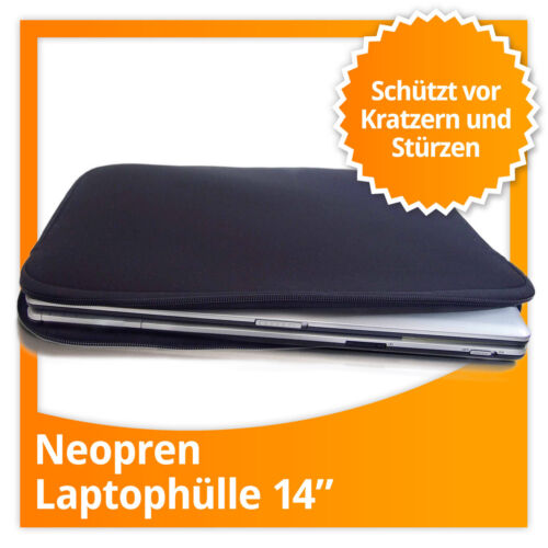 Neopren Softcase für Laptop & Notebook Schutzhülle Laptoptasche 14''-Zoll