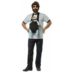 Alan Costume Adult Funny Carlos Hangover Halloween Fancy Dress