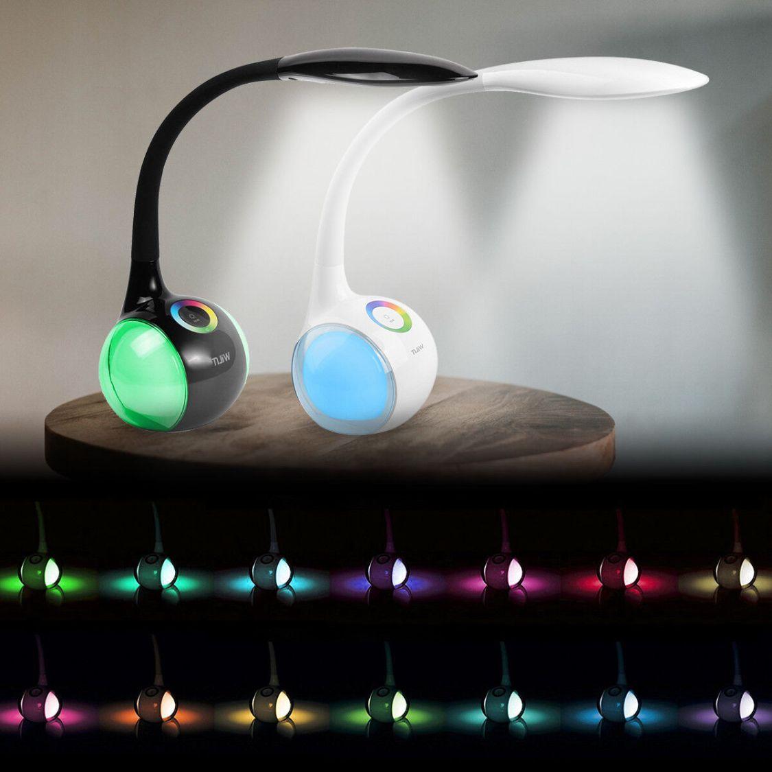 5W LED Tisch-Leuchte Schreibtisch-Lampe Büro dimmbar Touch Leselampe Nachttisch