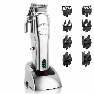 Professional Cordless Hair Clipper for Men Hair Beard Trimmer Quiet Home Barber