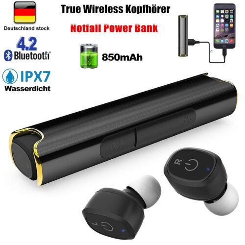 Kopfhrer Mini Bluetooth Kopfhörer In-Ear TWS Kabellos Stereo Ohrhörer Headset