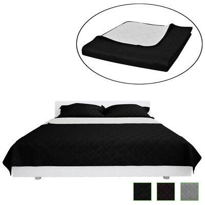 Zweiseitige Steppdecke Bettüberwurf Tagesdecke Steppung Decke mehrere Auswahl