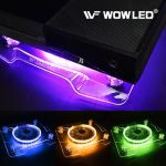 Cooling Fan RGB USB LED Cooler Stand Wireless Remote Control for XBOX Laptop PS4