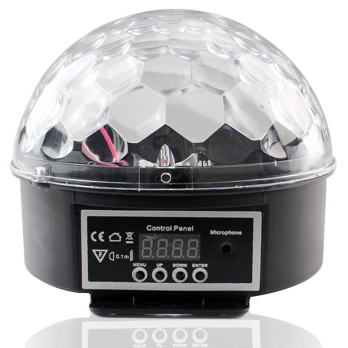 Discokugel LED Lichteffekt Party Lichter Beleuchtung für DJ Club Weihnachten