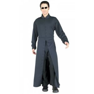 Neo Costume Adult The Matrix Halloween Fancy Dress