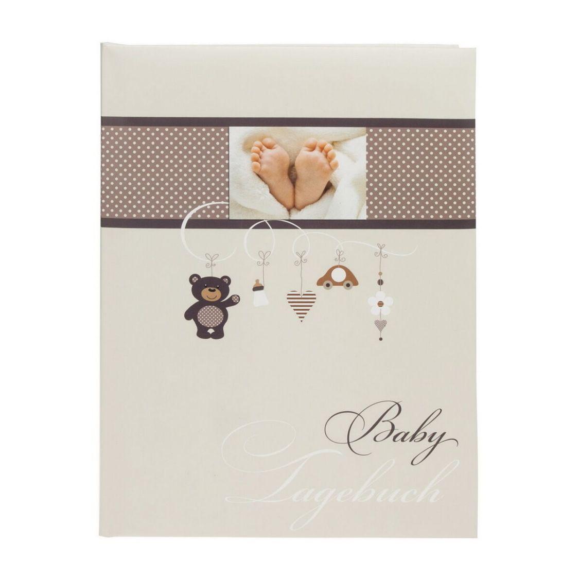 Goldbuch Babytagebuch Little Mobile 11237 mit 44 illustrierten Seiten