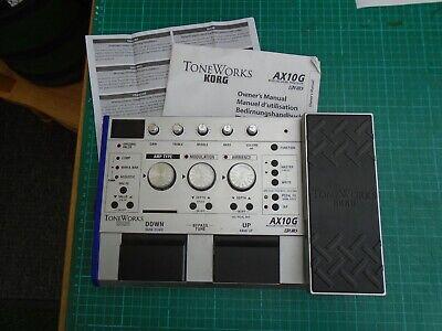 korg toneworks AX10G modeling signal processor/effects unit/pedal