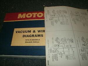 1975 1976 Chevrolet Vega Pontiac Astre Complete Wiring Diagrams Schematics SET | eBay