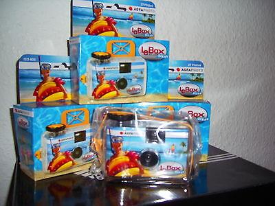 AGFA Unterwasserkamera Einwegkamera CAM 27 Bilder !! NEU !!! OVP !! 0,-€ Versand