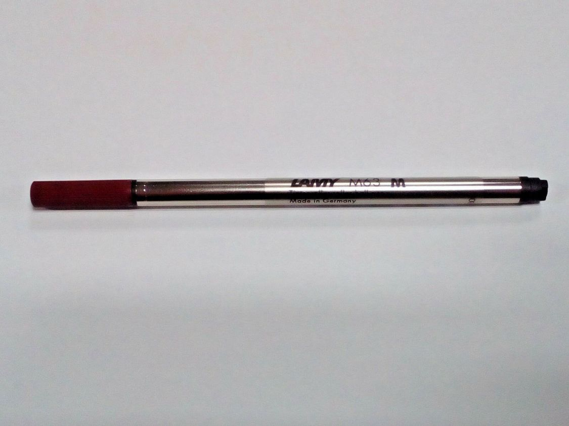 LAMY M63 Tintenroller-Mine schwarz, Großraummine, Stärke M