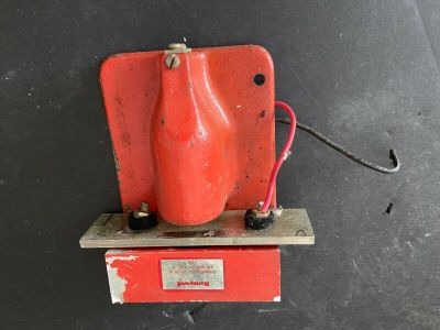 *Vintage* *Rare* Honeywell SC606E1005 Fire Alarm Chime Wall Red