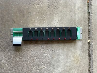 Simplex 562-814 (Rev B) Fire Alarm 8 LED Switch Assembly Board 4100 Control